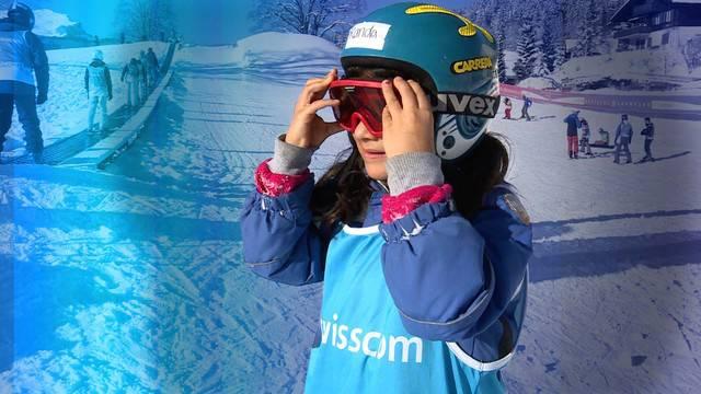 Flüchtlingskinder erleben den Schneesport