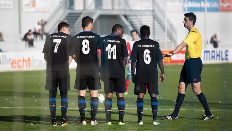 Der FC Grenchen hat wieder nur mit einem Tor Unterschied verloren.