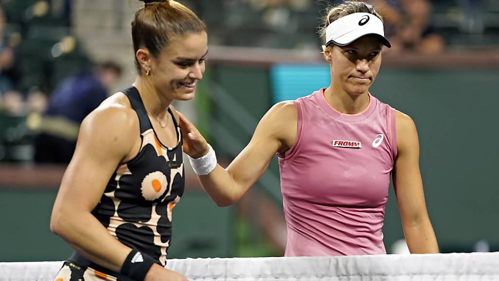 Viktorija Golubic bezwingt Top-Ten-Spielerin