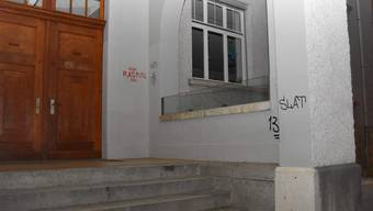 Der 19-Jährige Schweizer steht in Verdacht, an zahlreichen öffentlichen Einrichtungen und Objekten mehrere Dutzend Sprayereien und Schriftzüge in verschiedenen Farben angebracht zu haben.