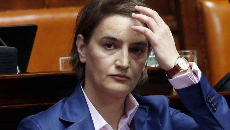 Zu den Aufgaben von Ana Brnabic gehört die weitere Annäherung Serbiens an die Europäische Union.