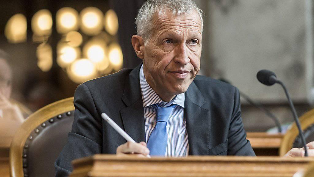Der abtretende Ständerat Konrad Graber soll von einer CVP-Frau im Amt beerbt werden. (Archivbild)