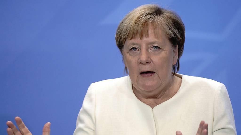 Merkel: Steigende Infektionszahlen Grund zur Beunruhigung