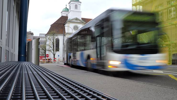 Ab Dezember 2018 fahren jeweils von Montag bis Freitag 329 BOGG-Busse durch die Konradstrasse.