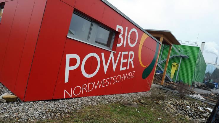 Auf dem Bild ist die Bio-Power-Anlage Nordwestschweiz in Pratteln.