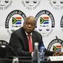 """Der ehemalige südafrikanisch Präsident Jacob Zuma sieht die gegen ihn erhobenen Korruptionsvorwürfe als """"Komplott""""."""
