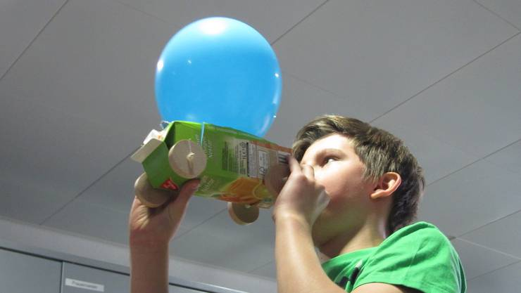 Experimente mit Luftantrieb