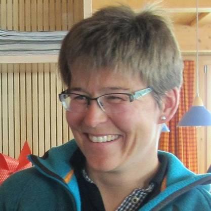Andrea Strohmeier, Präsidentin der Schweizer Hüttenwarte.