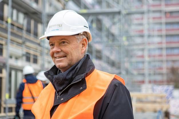 Max Renggli (CEO und VR-Präsi der Renggli AG Holzbau).