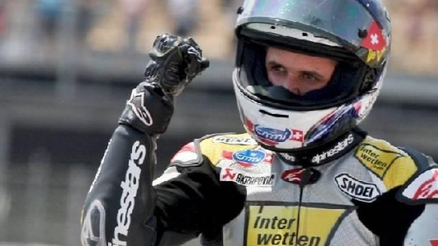 Lüthi bestätigte im Rennen seine gute Leistung vom Qualifying