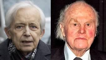 Cornelius Gurlitt (links) und Eberhard W. Kornfeld hatten eine intensive Geschäftsbeziehung.