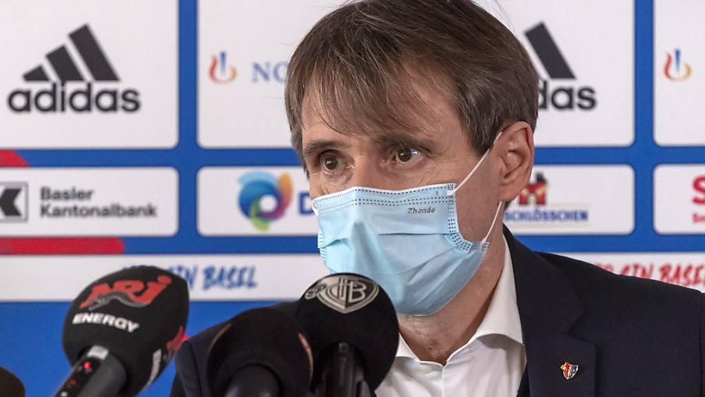 FCB-Präsident Bernhard Burgener macht im Besitzer-Streit mit David Degen den nächsten Zug