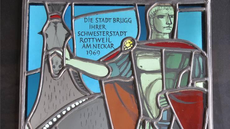 Ein prächtiges Geschenk von der Stadt Brugg an ihre Partnerin, die deutsche Stadt Rottweil. ZVG