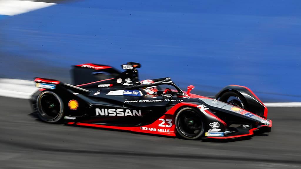 Profitiert am Ende von drei Ausfällen und wird Fünfter: Sébastien Buemi im Nissan. (Archivbild)