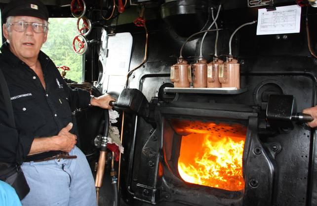 und der grossen Dampflok