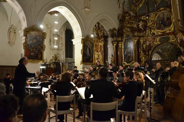 Das Stella Maris Orchestra in der Klosterkirche Wettingen