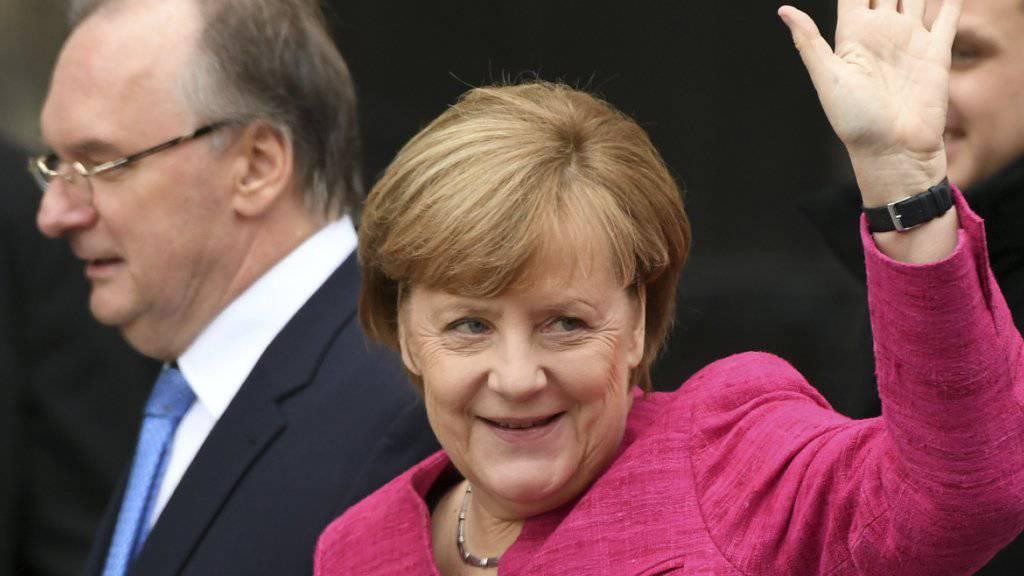 """Das US-Magazin """"Forbes"""" kürt die deutsche Bundeskanzlerin Angela Merkel zum siebten Mal in Folge zur mächtigsten Frau der Welt. (Archivbild)"""