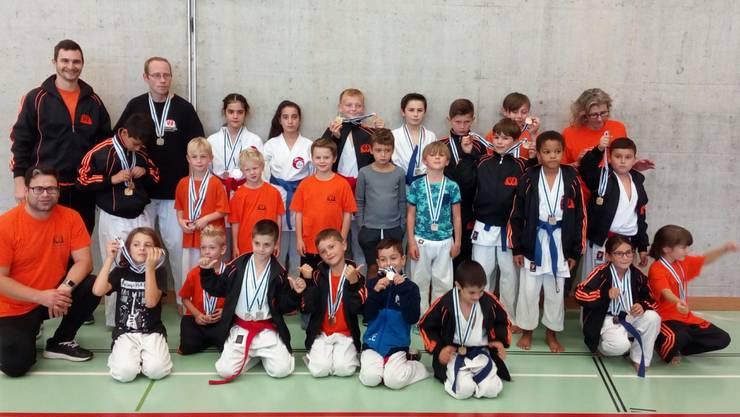 Team der Shinsei Kan Karateschule