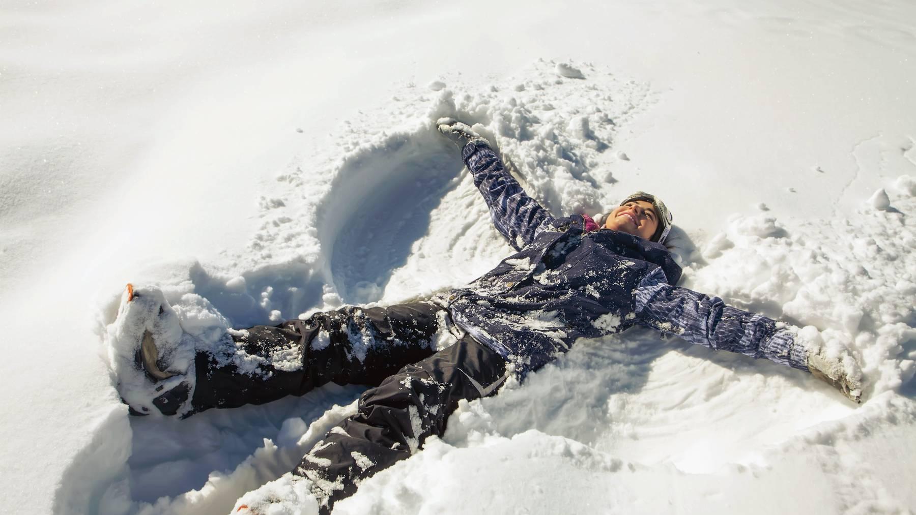 Bald könnt ihr euch wieder im Schnee wälzen und «Engeli» machen.
