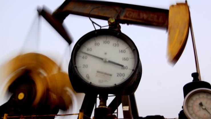 Ölförderung in Bahrain.