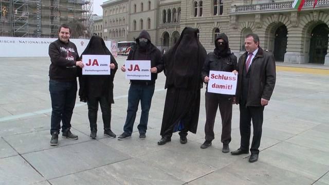 Nachspiel für Burka-Demo