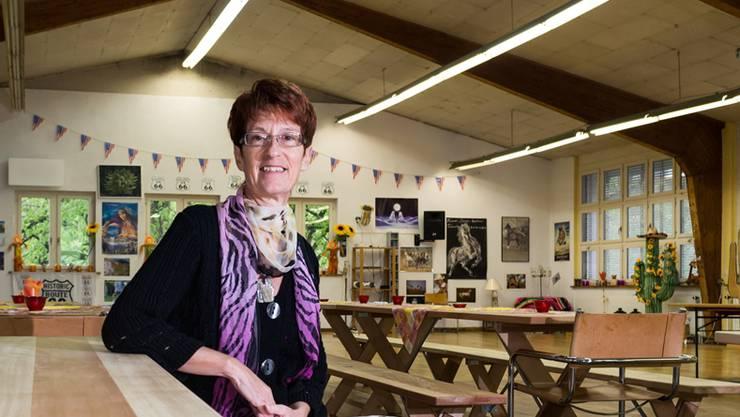 Sonja Schibli hat sich mit ihrer Tanzschule im obersten Stock der alten Staffelbacher Mühle eingemietet.
