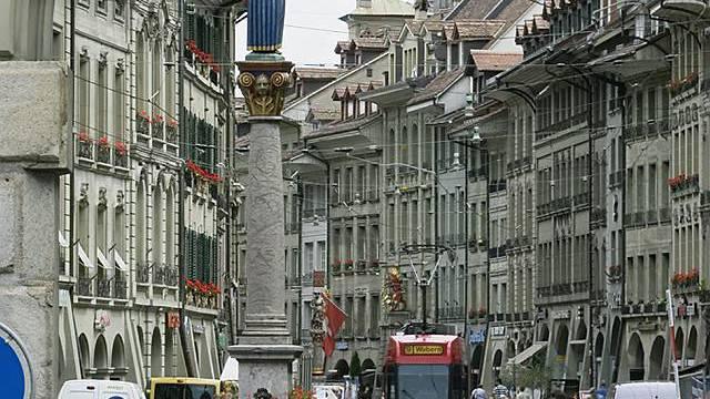Blick in die Berner Marktgasse (Archiv)