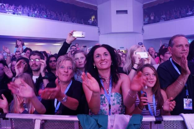 Das Publikum ist entzückt