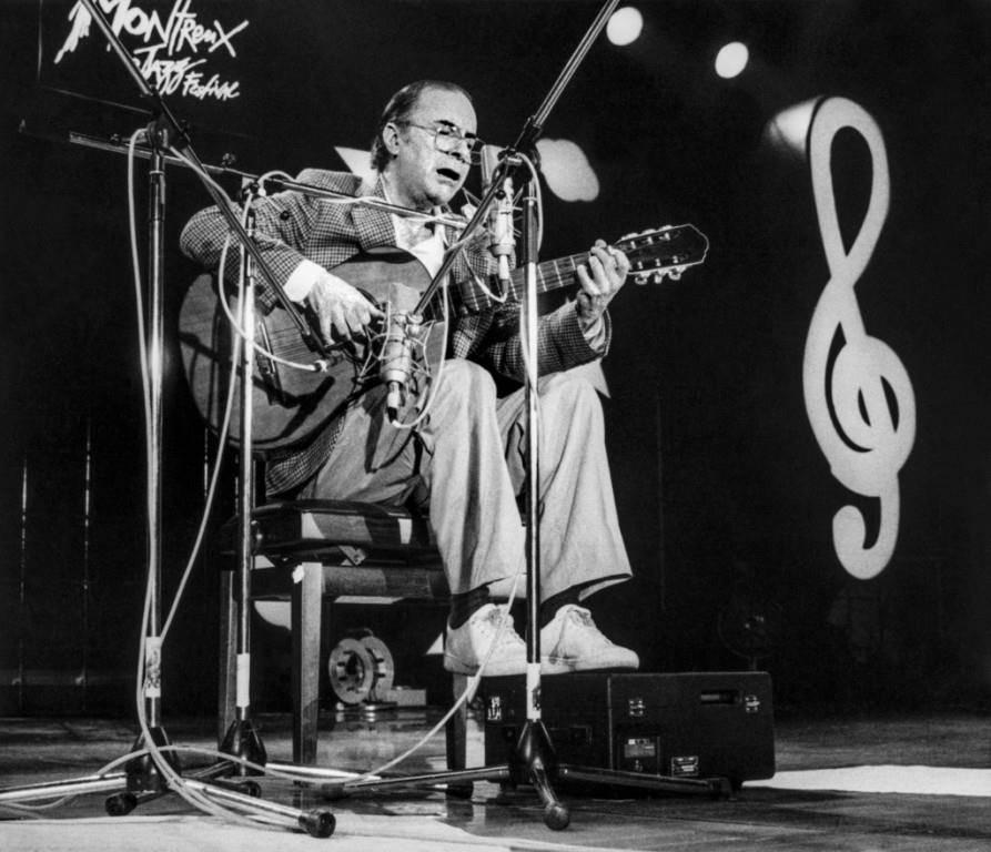 1985 trat Gilberto am Jazzfestival in Montreux auf. (© Keystone)