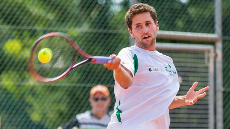 Sandro Ehrat siegte für Froburg Trimbach in den ersten beiden NLA-Runden zweimal im Einzel und zweimal im Doppel.