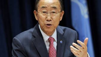 UNO-Generalsekretär Ban Ki Moon in New York