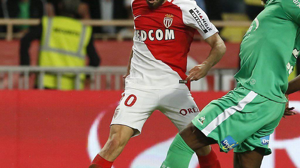 Bernardo Silva (links) wechselt von Monaco zu Manchester City