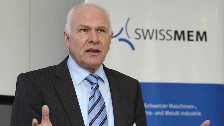 Swissmem-Präsident Hans Hess ärgert sich über die zum Teil überrissenen Preise in der Schweiz. (Archiv)