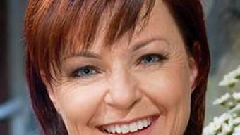 Moderatorin Monika Fasnacht (Bild sf)