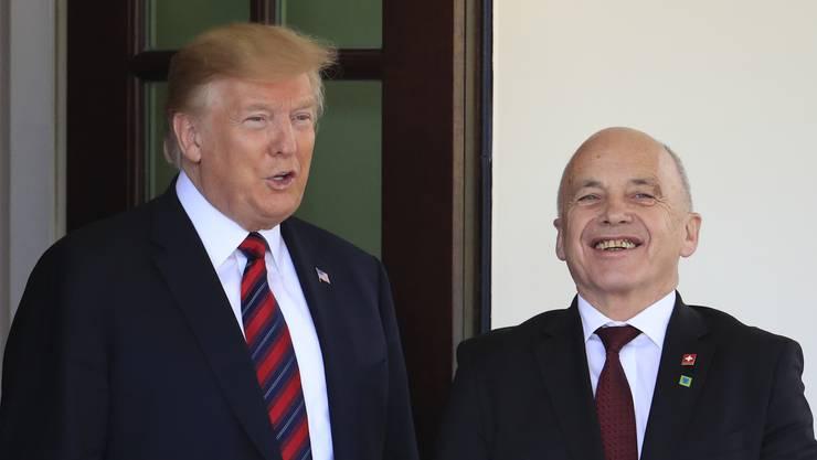 Patrik Müller: «Ueli Maurer und Donald Trump haben persönlich wenig gemeinsam. Doch politisch wollen sie dasselbe.»