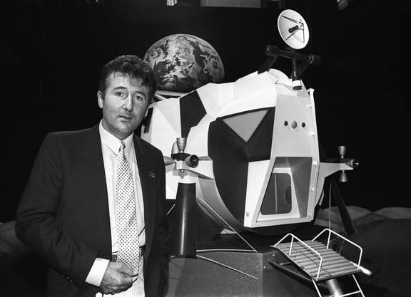 Bruno Stanek, Mathematiker und Fernsehkommentator. (KEYSTONE/Martin Ruetschi)