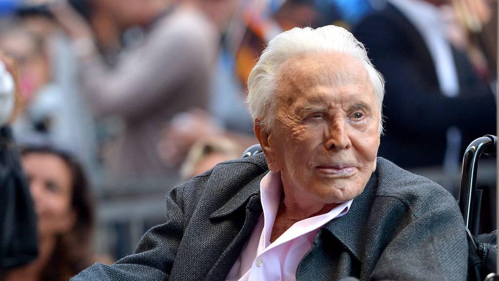 Hollywood-Legende Kirk Douglas im Alter von 103 Jahren gestorben