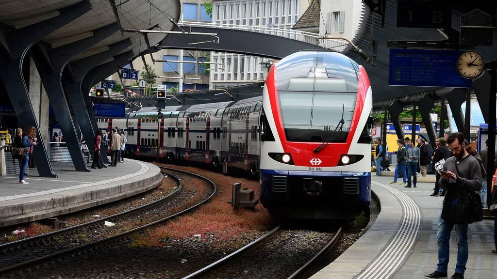 SBB erhalten wieder Bonus für Pünktlichkeit der S-Bahnen