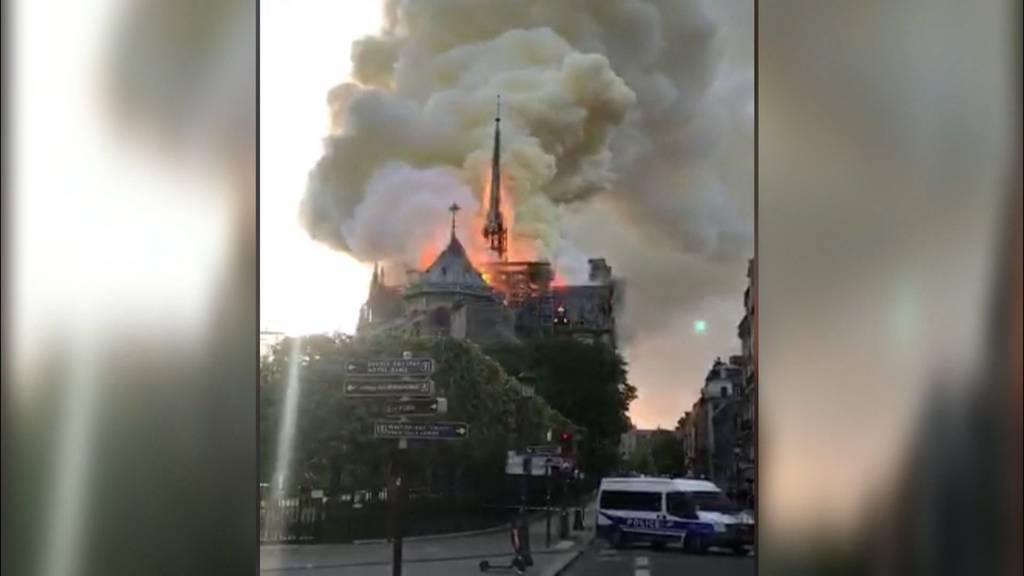 Brand in der Notre-Dame ist wie ein Déjà-vu
