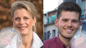 Carole Binder und Rolf Schmid im Vergleich.