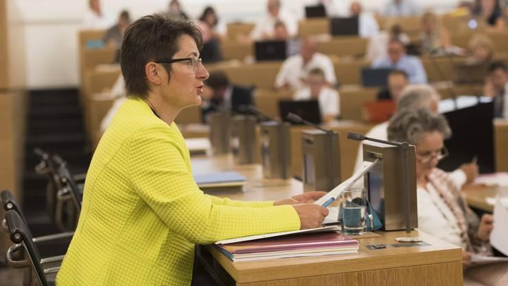 Franziska Roth und die Chefs des Grossen Rates haben sich ausgesprochen. (Archiv)