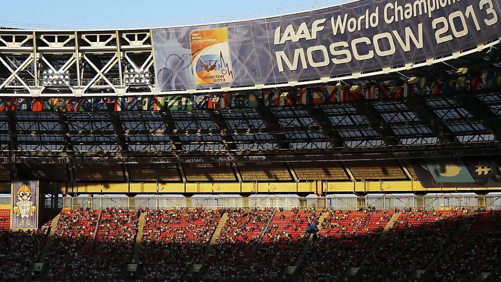 Russlands Leichtathletik-Verband, der Gastgeber der Weltmeisterschaften 2013, gerät in die Kritik