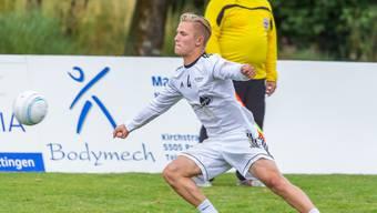 Tim Egolf zeigte im Angriff mit seinem neuen Spielpartner David Hollenstein eine ansprechende Leistung.