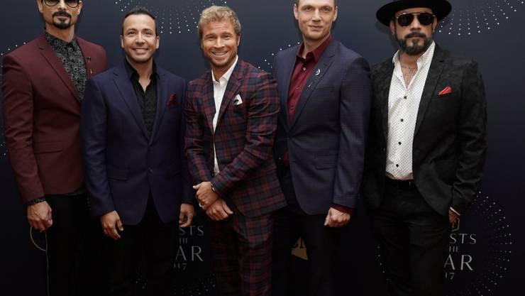News von den Backstreet Boys: Am (morgigen) Donnerstag veröffentlicht die US-Boygroup eine neue Single. (Archivbild)