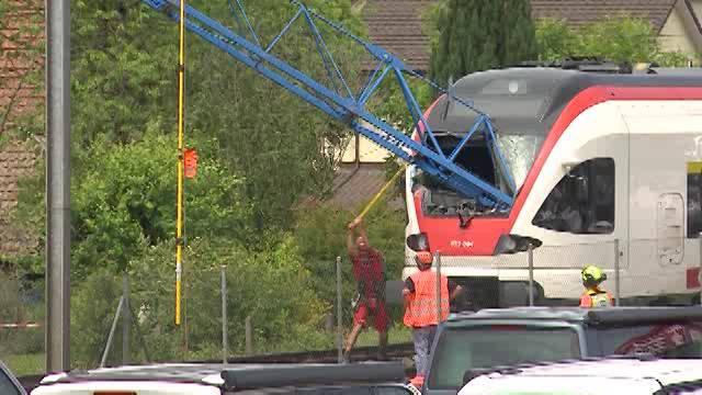 Strafbefehl nach dem Zugunglück in Schinznach-Bad