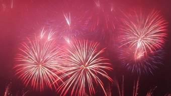 Ein halbstündiges Feuerwerk als Höhepunkt (Archiv)