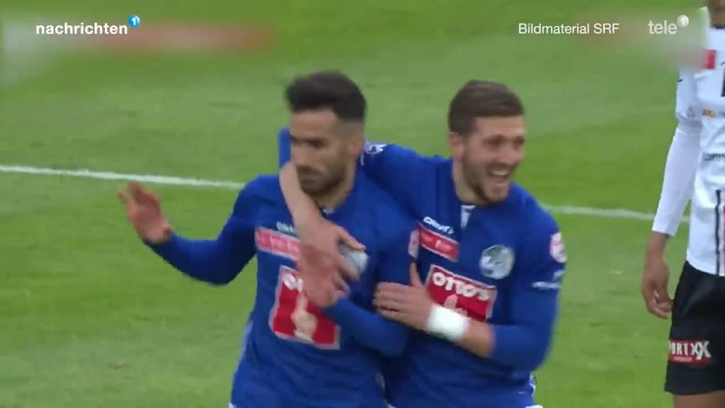 FCL im Cup Halbfinal gegen Aarau