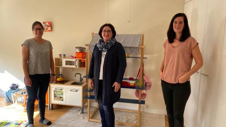 v.l. Céline Ullmann, Sarah Felber, Mirjam von Rohr