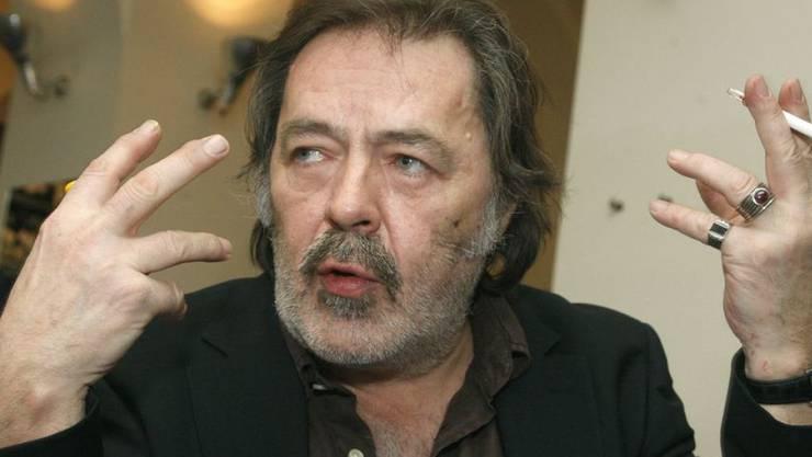 Der österreichische Karikaturist Manfred Deix ist am Samstag im Alter von 67 Jahren gestorben (Archiv)