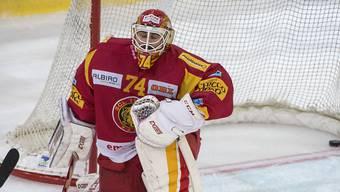 Bittere Niederlage für Langnau und dessen Goalie Ivars Punnenovs